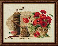 """Набор для вышивания крестом """"Кофе"""""""