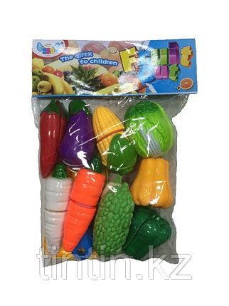 Разрезанные овощи на липучках 10 шт, 389-126A, фото 2