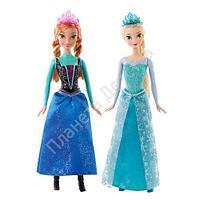 Кукла Принцессы Дисней Анна/Эльза, из м/ф Холодное сердце в ассортименте