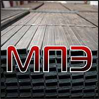 Профиль 100х60х3 мм стальной сварной замкнутый трубы профильные электросварные ГОСТ ТУ металлическая