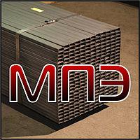 Профильная труба размер 25х10 сечение прямоугольное ГОСТ 13663-86 30245-03 стальная сварная сталь 20 09г2с