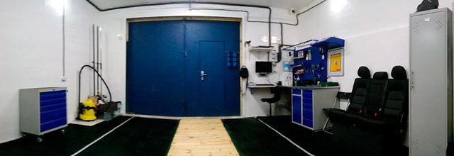 Оборудование гаража удобным рабочим местом и системами хранения -1