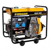 Дизельный сварочный генератор Firman SDW180E