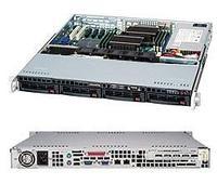 Сервер Supermicro CSE-813MTQ-441\X11SSl-F\Xeon E3-1220v5\8GB RAM DDR4 ECC\2x1TB SATA\2xGLAN\441W\Rack 1U