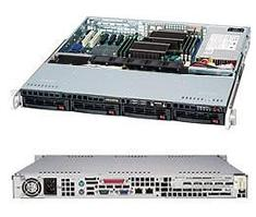 Сервер Supermicro CSE-813MFTQC-505\X11SCL-F\E-2224\8GB RAM DDR4\2x1TB SATA\2xGLAN\500W