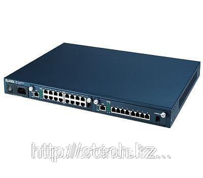 Zyxel IES-1000M (DC power) Шасси высотой 1U с 2 слотами и питанием от сети постоянного тока