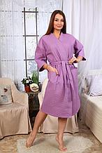 Халат-кимоно женский вафельный. Россия.