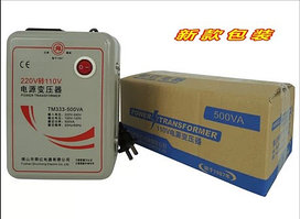 Конвертер преобразователь напряжения с 220-240v до 110-120v TM333-500VA 220/110v 500w