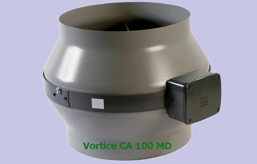 Вентилятор канальный Vortice CA 100 MD
