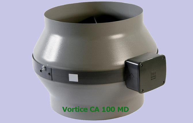 Вентилятор канальный Vortice CA 100 MD, фото 2