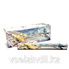 Благовония угольные Привлечение Денег Даршан, Call money-Call Client Darshan, 20 шт