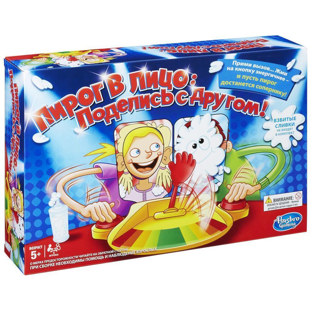 Игра  настольная Hasbro Games Пирог в лицо (2 участника)