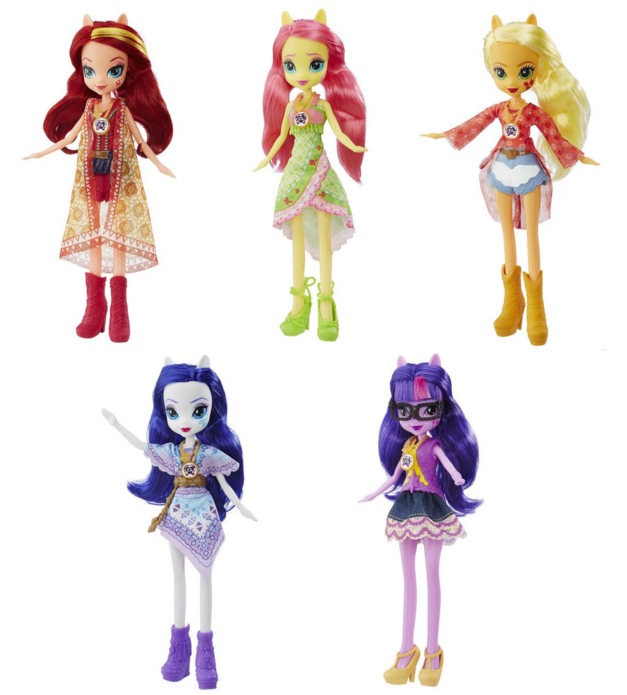 "Equestria Girls кукла ""Легенда Вечнозеленого леса"", в ассорт."