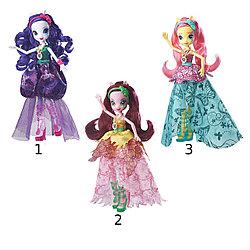 "Игрушка Hasbro Equestria Girls кукла делюкс с аксессуарами ""Легенда Вечнозеленого леса"", в ассорт."