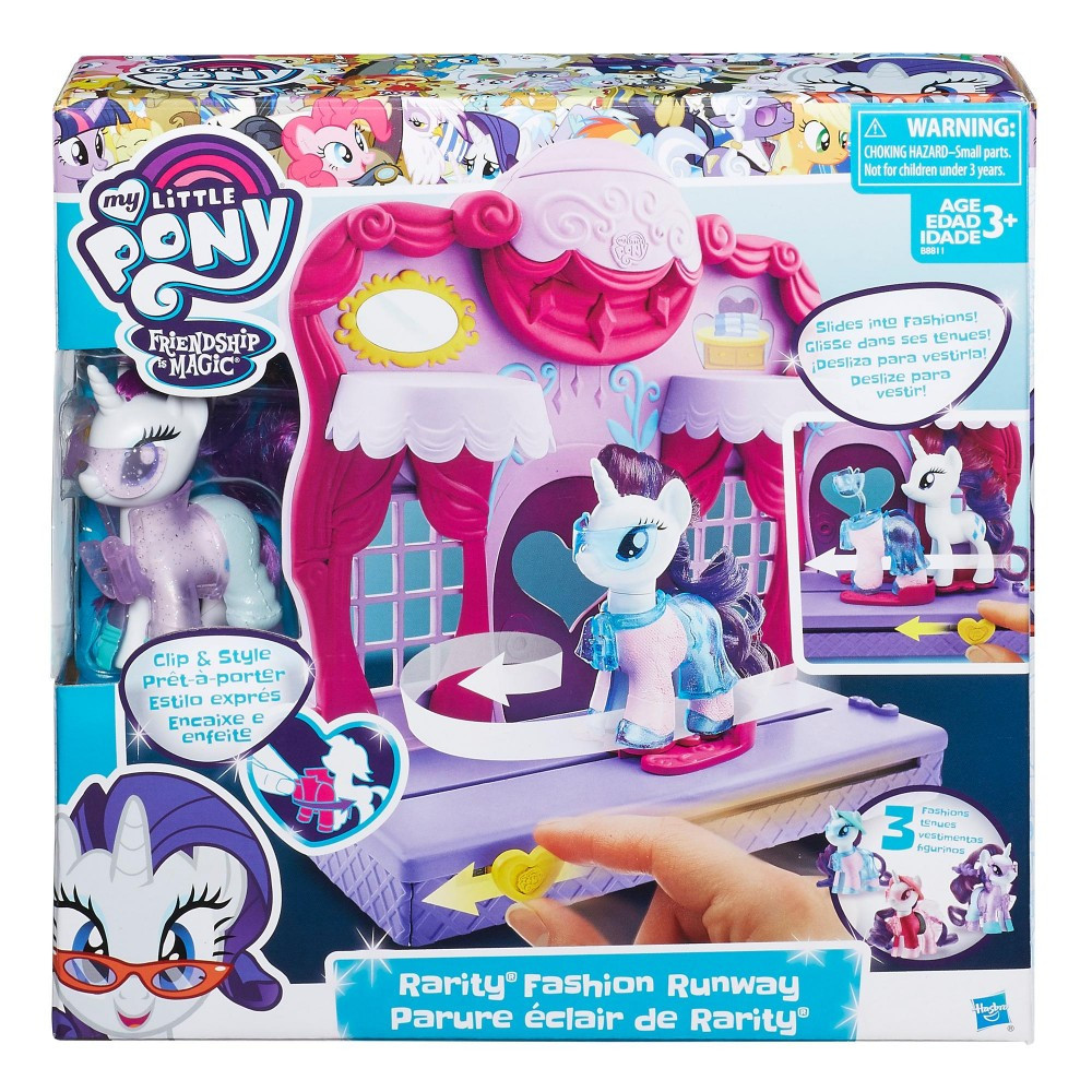 My Little Pony Hasbro MLP Бутик Рарити в Кантерлоте