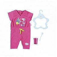 Игрушка BABY born Пижама, зубная щетка и стаканчик, веш