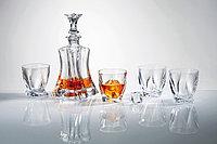 Набор для виски FLORAL 1+4шт. 5 предметов богемское стекло, Чехия 99999/9/99E50/797. Алматы