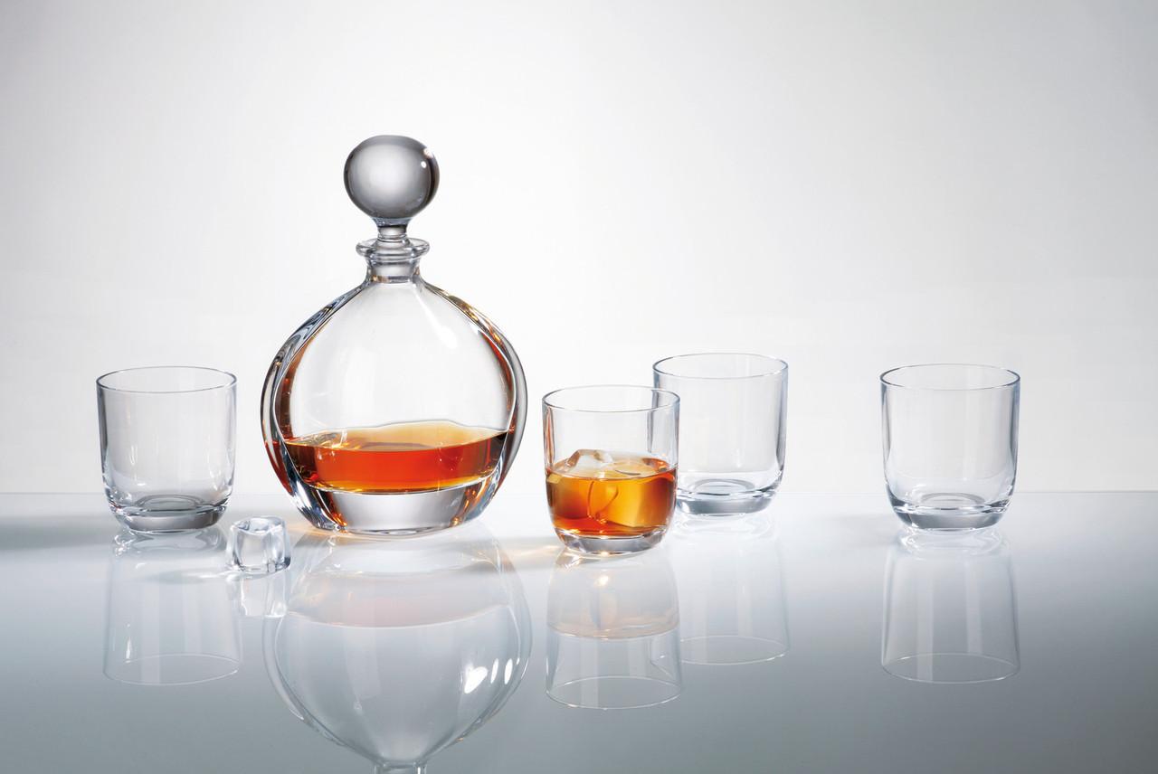Набор для виски ORBIT 7 предметов богемское стекло, Чехия 99999/9/00000/783.