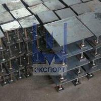Закладные конструкции, контрольно-измерительное оборудование