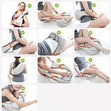 Массажёр роликовый  для спины и шеи Massager of Neck Kneading., фото 4