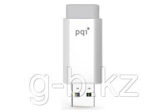 USB Флеш 16GB 2.0 PQI 6176-016GR3001 белый серый