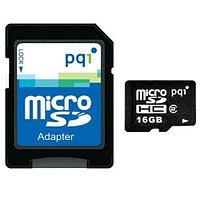 Карта памяти MicroSD 16GB Class 10 U1 PQI 6988-016GR106A