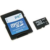 Карта памяти MicroSD 16GB Class 10 U1 PQI 6ARJ-016GVR99A
