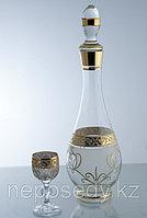 Набор для ликера 7 пр. 605/38/7 set karafa+vodka.cl mah.fon.zl. Алматы