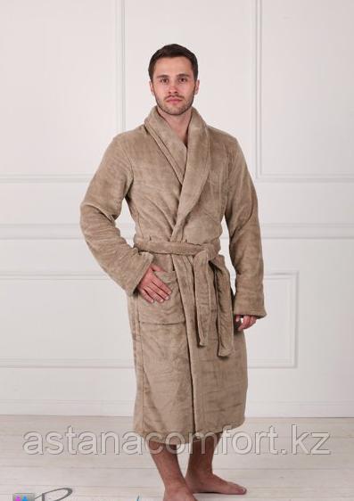 Мужской теплый домашний халат.  Вельсофт. Россия.