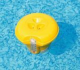 BestWay Поплавок-дозатор с термометром, 18,5 см, для химии в таблетках, фото 4