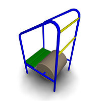 Спортивное оборудование для улицы «Барабан» Размеры 915х785х1600мм