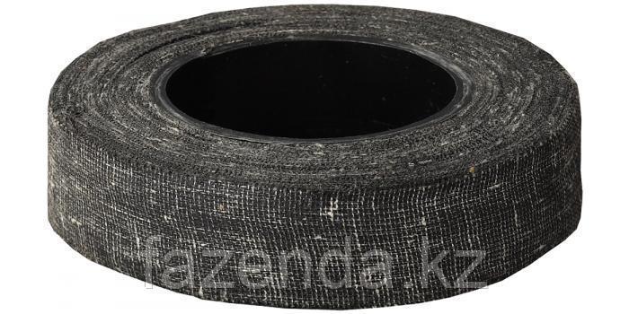 Изолента х/б черная  Сибин 18 мм