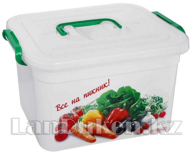 """Контейнер для шашлыка """"Все на пикник"""" 10 литров 81011 (003)"""