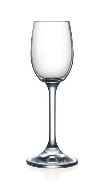 Рюмка Laura 65мл для водки 6шт. богемское стекло, Чехия 40415--65