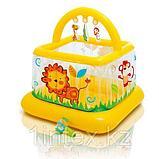 Intex Детский надувной манеж 117х117х117см, от 9 до 18 месяцев, уп.3, фото 2