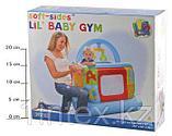 Intex Детский надувной манеж 117х117х117см, от 9 до 18 месяцев, уп.3, фото 4