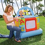 Intex Детский надувной манеж 117х117х117см, от 9 до 18 месяцев, уп.3, фото 7