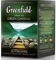 Greenfield Green Ginseng ооlong tea, (1,8x20x8)