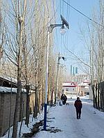 Солнечный светодиодный светильник AIO-20W, фото 1