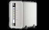 QNAP VS-2104L Сервер IP-видеонаблюдения с 4 каналами для записи видео. Marvell 1,6 ГГц, фото 2