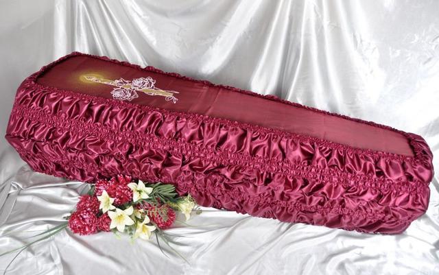 Обивка гроба