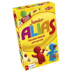 """Games Tactic Настольная игра """"Скажи иначе"""" для детей компактная, Alias Junior"""