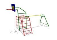 Уличное Спортивное оборудование «Комбо» Размеры 4150х2385х3530мм