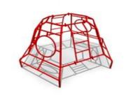 Спортивное уличное оборудование для детей «Большой лаз» Размеры 2960х2390х1555мм
