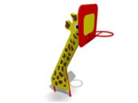 Уличное детское Спортивное оборудование «Жираф» Размеры 2500х1650х1050мм