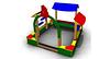 Детский игровой  Песочный дворик Размеры 2655 х 2850 х 1940 мм