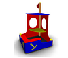Детская игровая Песочница «Кораблик2» Размеры: 2140х1890х2145мм