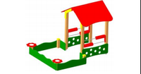 Детский Домик-беседка Размеры: 2900х2200х1950мм