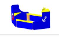 Детская игровая Песочница «Лодка» Размеры: 1790х1010х835мм