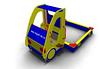 Детская игровая Песочница «Автомобиль» Размеры: 3210х2050х1820мм